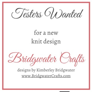 Test Knitters Wanted